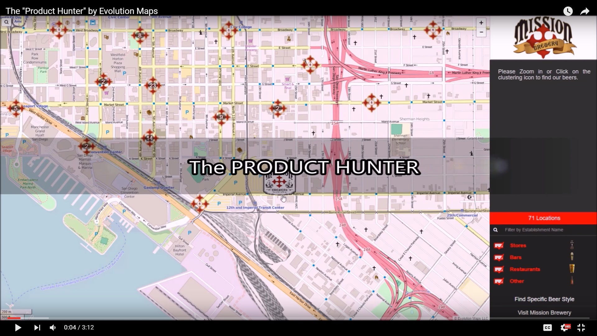 Evolution Maps Product Hunter